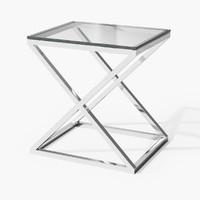 3d eichholtz table criss cross model