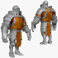 3d 3ds sculpt knight k1 series