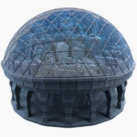 dome city mht-03 3d model
