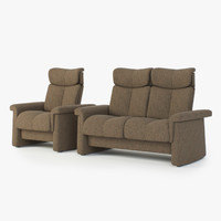 3d sofas stressless legend 2-seater