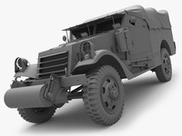 3ds m3a1 scout car