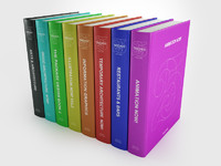 3d model of cinema4d books