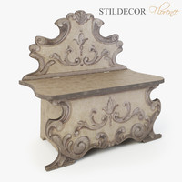3d model bench - stildecor florence