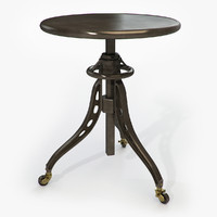 Restoration Hardware - Caliper Table Cast Iron