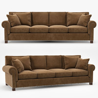 3d model ralph jamaica sofa