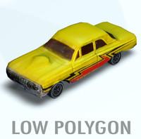 3d model car polygons