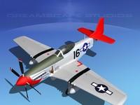 p-51d cockpit propeller dxf