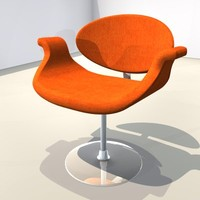 Chair yellow/orange