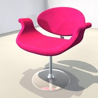 chair pink
