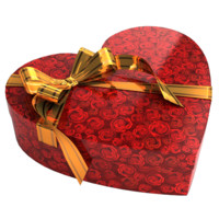 box gift heart 3ds