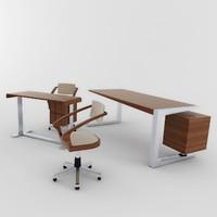 3d model giordgetti set furniture 01