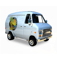 3d model cartoon van