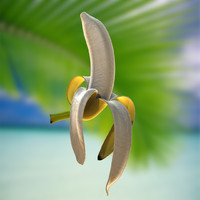 banana great golden 3d model