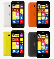 3d nokia lumia 638 color model