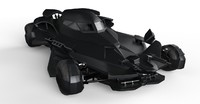 batmobile 3d obj