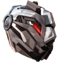 obj sci fi helmet