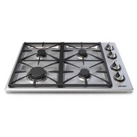 "RGC304SLP Dacor Renaissance 30"" Liquid Propane Gas Cooktop - Stainless Steel"
