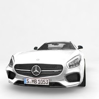 3ds max benz gt amg 2016