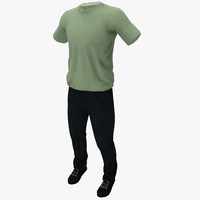 civilian clothing 3d x