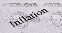 Inflation Text - Macro  Photography