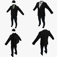 3d model civilian clothing