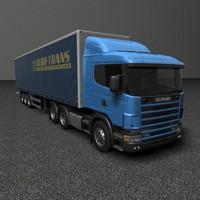 3d model of scania r 420