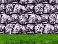Stone wall 21