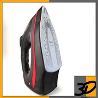 realistic cordless iron 3d 3ds