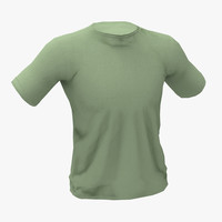 3d model t shirt