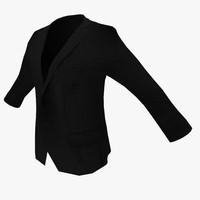 suit jacket 3d fbx