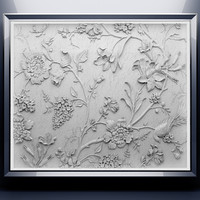 3d model bas-relief relief