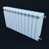 3d radiator heater