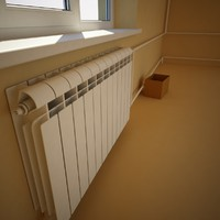 Wall-mounted radiator (Heater)