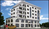 hotel design 3d max