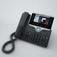 cisco ip phone 8841 3d model