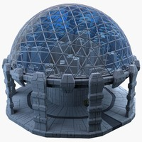 dome city mht-05 3d model