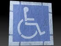 scan handicap parking obj