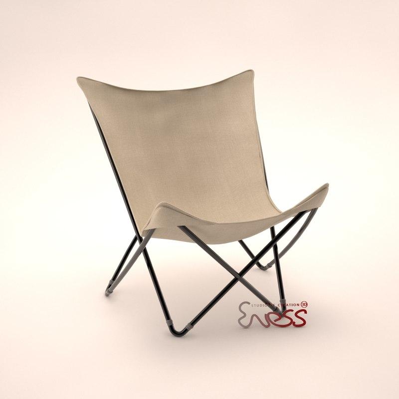 3d chair lafuma maxi pop. Black Bedroom Furniture Sets. Home Design Ideas