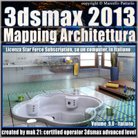 3dsmax 2013 Mapping Architettura v.9.0 Italiano Subscription