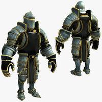 knight series 3d model