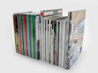various magazine 7 3d model