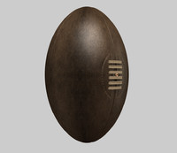 c4d rugby ball