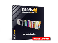 Models4D Vol.7 – Books