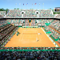 roland garros stadium 3d model