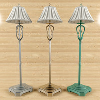 3ds max flos floor lamp