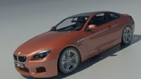 2015 coupe bmw 3d model