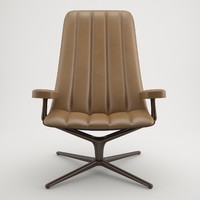 3d model of walter knoll healey lounge