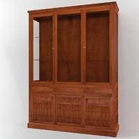 3d annibale colombo e1256 cabinet model