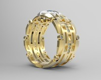 3ds max ring stl