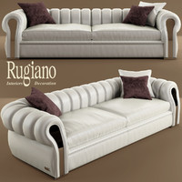 sofa and chair rugiano Karma